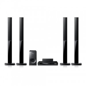 SAMSUNG HT-E355K 5.1-CHANNEL MULTI-REGION/MULTI-SYSTEM DVD HOME THEATER SYSTEM