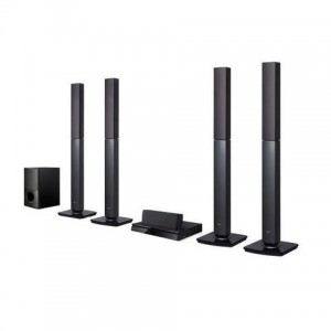 LG LHD655BT DVD HOME THEATRE SYSTEM - 5.1 CHANNEL - BLACK