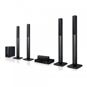 LG LHD457B BLUETOOTH HOME THEATER SYSTEM - 5.1 CHANNEL BLACK