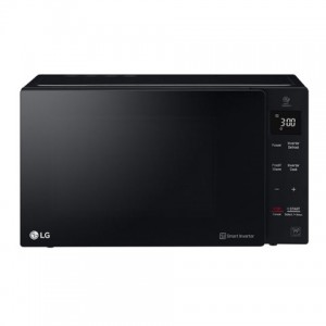 LG 25L MS2535GIS NEOCHEF BLACK MICROWAVE OVEN WITH SMART INVERTER - BLACK