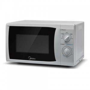 MIDEA MG720CFB 20LTR SOLO MICROWAVE - SILVER