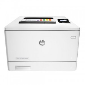 HP COLOR LASERJET PRO M452DN DUPLEX PRINTER - WHITE