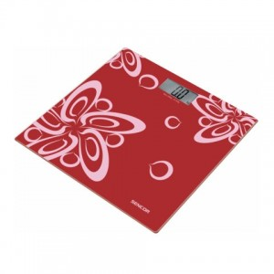SENCOR SBS 2507RD PERSONAL SCALE - RED