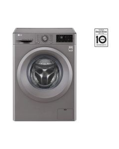 FRONT LOAD (WASH ONLY) 7KG, INVERTER DIRECT DRIVE MOTOR, 6 MOTION DD, SMART DIAGNOSIS WASHING MACHINE - SILVER