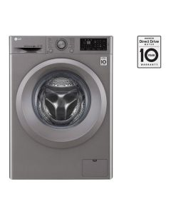 FRONT LOAD (WASH ONLY) 8KG, INVERTER DIRECT DRIVE MOTOR, 6 MOTION DD, SMART DIAGNOSIS WASHING MACHINE - SILVER