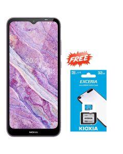 NOKIA C10 TA-1342 DS 32GB 1GB RAM - LIGHT PURPLE + FREE KIOXIA SD CARD 32GB