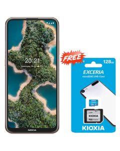 NOKIA X20 128GB 8GB RAM - NORDIC BLUE + FREE KIOXIA SD CARD 128GB