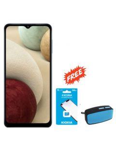 SAMSUNG GALAXY A12 128GB 4GB RAM + FREE KIOXIA SD CARD 64GB & BLUTEK BLUETOOTH SPEAKER BT22