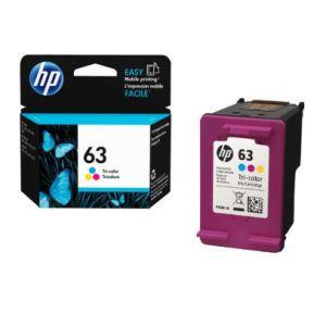 HP 63 F6U61AN INK CARTRIDGE - TRI COLOR